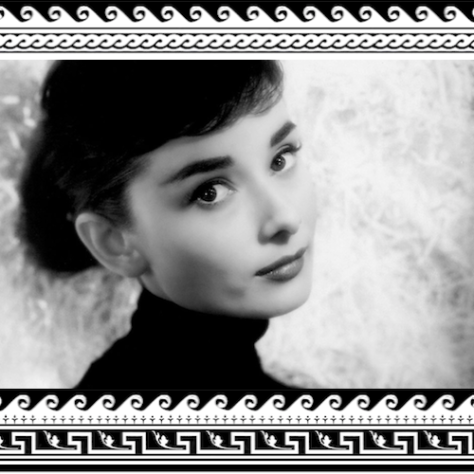 ™Angelcraft Crown Architectural the Holy Spirit in Metaphor Princess Audrey Hepburn.yv