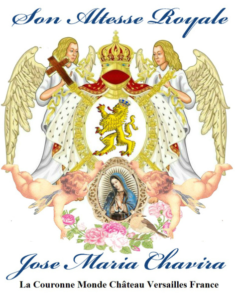 ™Angelcraft Crown Architectural Corporation ™(ArCh).corpvs La Couronne Monde Chateau Versailles Son Altesse Royale Jose Maria Chavira-MS-Adagio-1st
