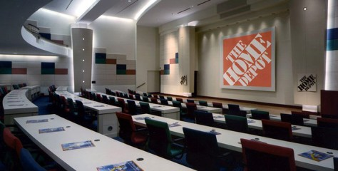 HD-Auditorium no. 4 - The Home Depot Corporate Headquarters - Warner Summers is an Angelcraft Crown Arquetectual Partner